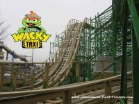 Sesame Place Oscar's Wacky Taxi Construction Tour